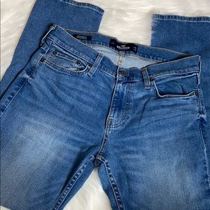Hollister men slim straight jeans NWOT